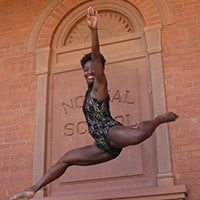 Chareka Daniel teaches at-risk youth to find confidence through dance.