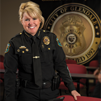 Debora Black earned her graduate degree in public administration while working the streets as a patrol officer and SWAT team member.
