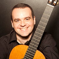 Fabio Bartoloni to teach and perform on guitar.